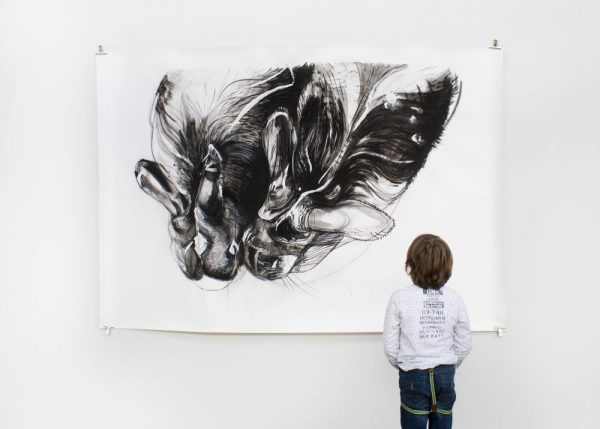 Iris Helene Jansen, Down the rabbithole, 150 x 200 cm