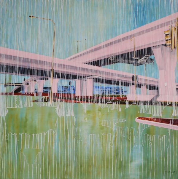 Stef Fridael, Rain above the Highway kopie