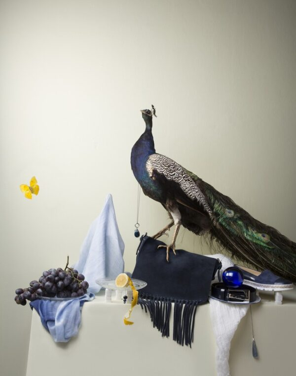 Louise te Poele, Peacock with grapes oplage 5
